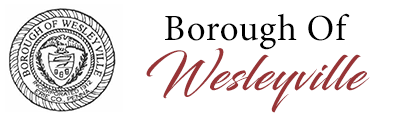 The Borough of Wesleyville Logo